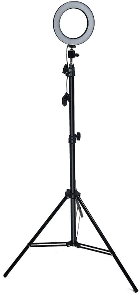 FGKING Selfie Ring Light with Tripod Stand and Cell Phone Holder for Live Stream//Makeup,for YouTube Video//Photography