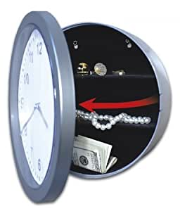 Jobar International Inc Wall Clock With Hidden Safe JB4985