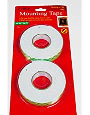 MOUNTING TAPE DOUBLE SIDE ROLL HOLDS UPTO 2LBS