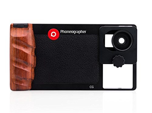 CGB Pro Case/Filter/3 Lens Kit - Black by Phoneographer
