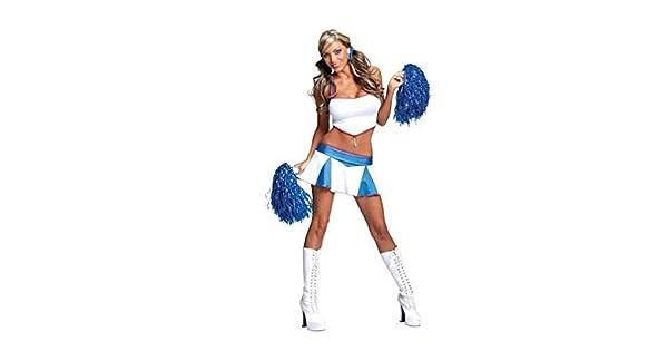 Amazon.com: Sexy disfraz de espíritu de equipo recámara, XS ...