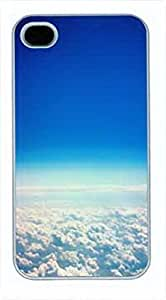 iCustomonline snap on Case Cover for iPhone 4 4s - Clouds