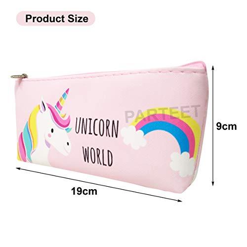 Parteet Unicorn Multipurpose Pouch(Assorted Color)