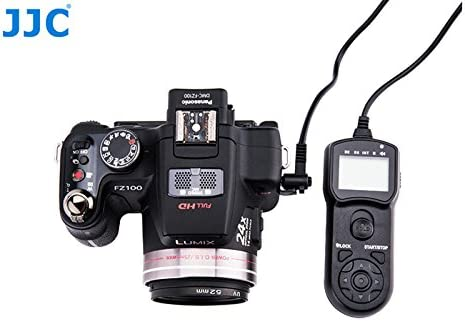 as DMW-RS1 RSL1 JJC Intervalometer Timer Remote Shutter Cord for Panasonic Lumix FZ50 FZ50K FZ50S FZ100 FZ150 FZ200 FZ1000 FZ2000 G3 G5 G6 G7 G10 GF1 GH1 GH2 GH3 GH4 GX7 GX8 GH5 FZ300 S1 S1R S1H