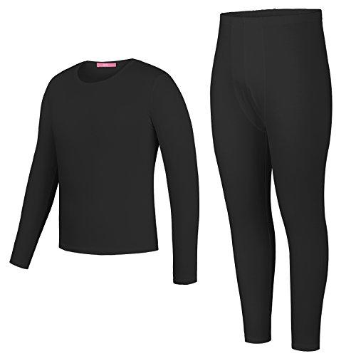 Yulee Mens 2PC Thin Long John Thermal Underwear Set Top & Bottom S-XXL