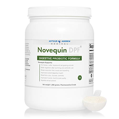 Arthur Andrew Medical - Novequin DPF, Digestive Probiotic Formula for Large Animals, Prebiotics, Probiotics, and Enzymes, Non-GMO, 1000 Grams by Arthur Andrew Medical (Image #5)