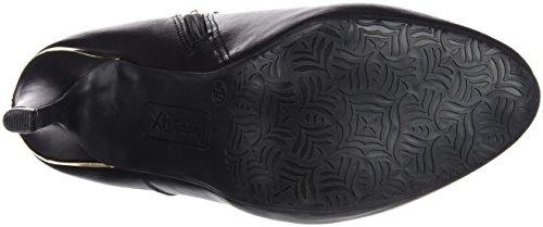 Xti Botin Sra. C. 46017, Zapatos De Tacón, Mujer Negro (Negro)