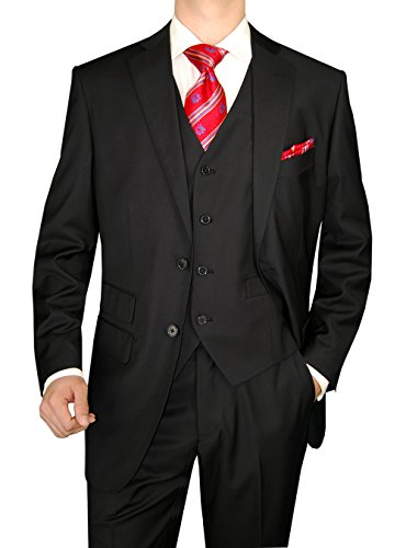 Used, Gino Valentino 3 Piece Men's Two Button Ticket Pocket for sale  Delivered anywhere in USA