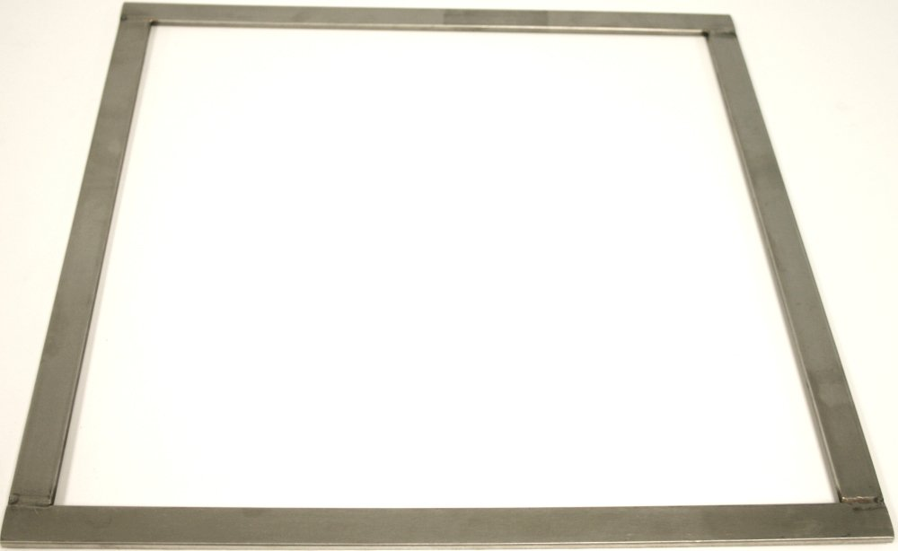 Paderno World Cuisine .25 Inch Stainless Steel Square Ganache Frame