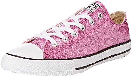 Converse Ctas OX, Zapatillas Unisex Niños Pink (Crimson Pulse/Natural/White)