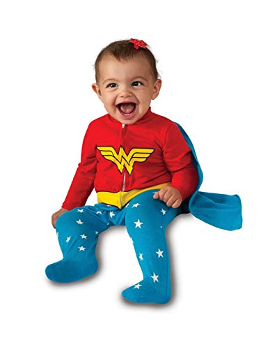 Rubie's Baby Girl's DC Comics Superhero Style Baby Wonder Woman Costume, Multi, 6-12 Months]()