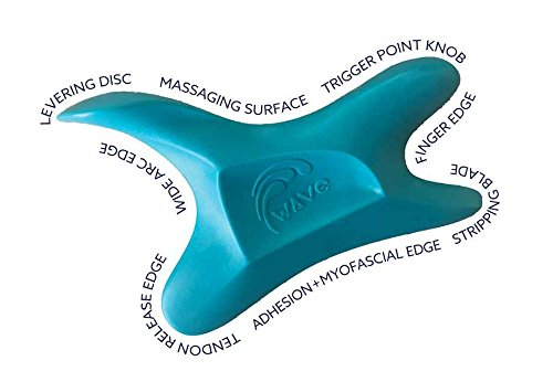 Soft Tissue Therapy - The Wave Tool, The Ultimate Soft Tissue Release Tool. Ergonomic Massage and IASTM Edge therapy for treating adhesions, trigger points, myofascial pain. Graston, Gua Sha, Edge, scraping tool