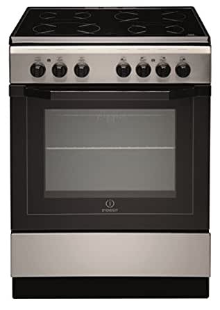 Indesit I6V6C1A (X)/FR - Cocina (Cocina independiente, Negro ...