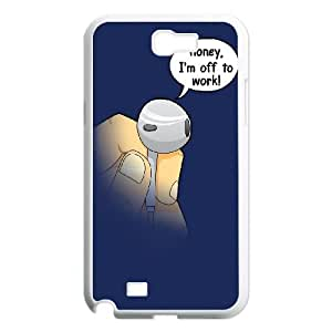 Samsung Galaxy N2 7100 Cell Phone Case White_OFF TO WORK Mzmoi