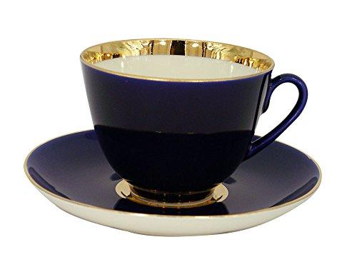 Lomonosov Porcelain Tea Set Cup and Saucer Spring Night 7.8