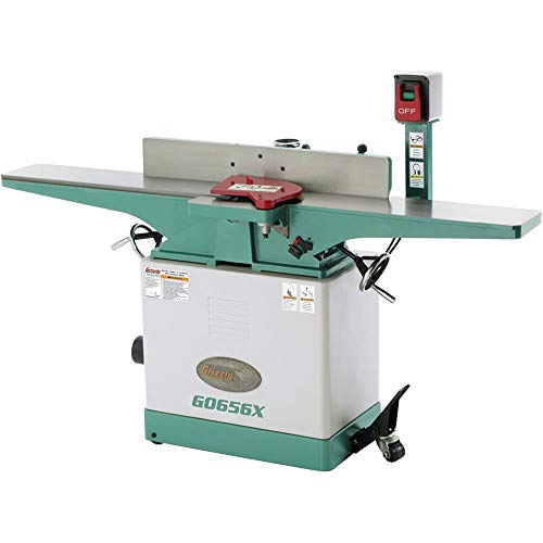Grizzly G0656X Jointer with Spiral Cutterhead, 8-Inch