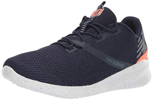 New Balance Men's District Run V1 CUSH + Sneaker, Pigment, 11 XXW US