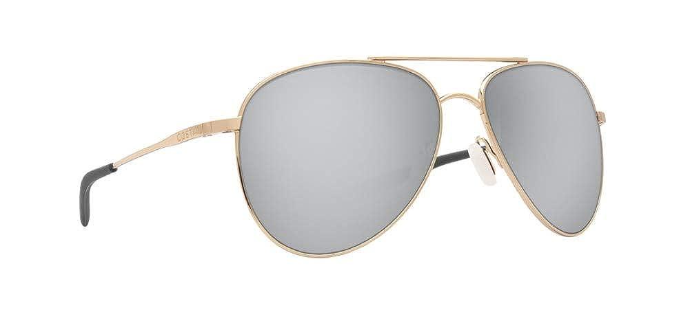 0f2ee3d7b0a94 Amazon.com  Costa Del Mar Cook Sunglasses Brushed Palladium Blue Mirror  580Plastic  Sports   Outdoors