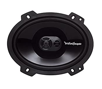 Rockford Fosgate Punch P1683 6 X 8-inches Full Range 3-way Speakers 0