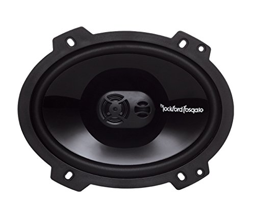 Rockford Fosgate Punch P1683 6 x 8-Inches  Full Range 3-Way Speakers by Rockford Fosgate