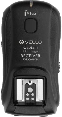 Vello FreeWave Captain Wireless TTL Receiver for Canon 4 Pack