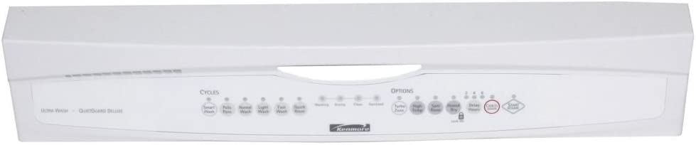 Whirlpool W10243210 Dishwasher Control Panel Genuine Original Equipment Manufacturer (OEM) Part