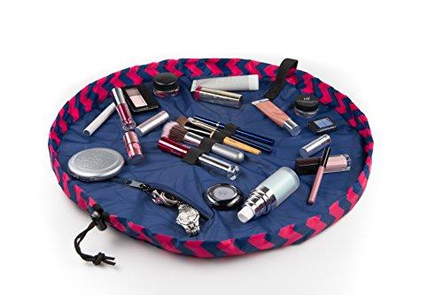 "Lay-n-Go COSMO Plus (21"") Cosmetic Bag, Chevron Pink"