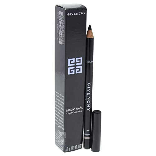 Givenchy Magic Khol Eye Liner Pencil # 1 Black for Women, 0.03 - Givenchy Eye