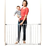 Regalo Easy Open 50 Inch Wide Baby Gate, Pressure Mount...