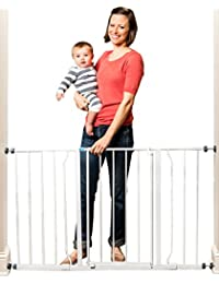Regalo Easy Open 50 Inch Wide Baby Gate, Pressure Mount with 2 Included Extension Kits BOBEBE Online Baby Store From New York to Miami and Los Angeles