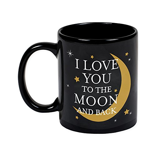 Love You to the Moon and Back 11 Ounce Ceramic Stoneware Coffee Mug