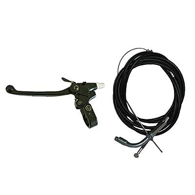 NORTHTIGER Throttle Cable Clutch Cable&Clutch Lever for 49cc 60cc 66cc 80cc Motorized Bike: Automotive