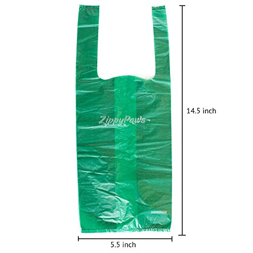 ZippyPaws-Dog-Poop-Waste-Pick-Up-Bags-with-Handles-210-count