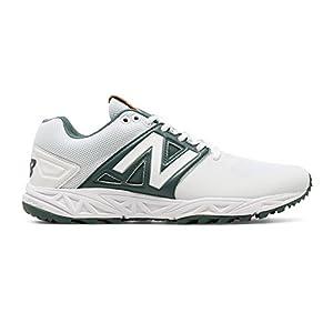 New Balance Turf 3000v3 Shoe Men's Baseball 7.5 White-Green