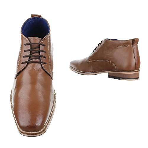Ital-Design - Botas Chelsea Hombre marrón claro