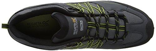 Regatta Samaris, Zapatos de Low Rise Senderismo para Hombre, 40.5 EU Beige (Briar/Dkspri 2Lu)