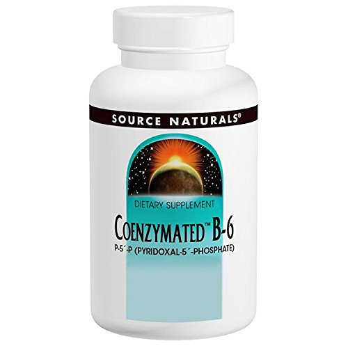 Source Naturals - Coenzymated B-6, 25 mg, 120 tablets