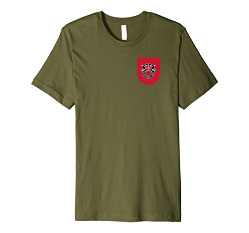 Special Forces Shirt 7th Special Forces Group (SFG) Shirt OD