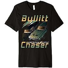 Bullitt Steve Mc Queen Chaser American Muscle Tshirt