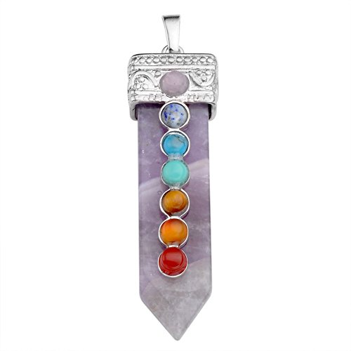 Top Plaza Healing Pendant Necklace