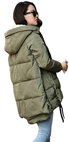 Orolay Women's Down Thickened Jacket Green HH4rq