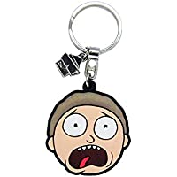 Chaveiro de Borracha Rick and Morty Oficial, Beek Geek'S Stuff Chb-Morty