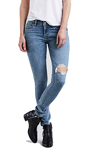 Levi's 18881 Women's 711 Skinny Damage Is Done Jean, Outta Time - 28x34