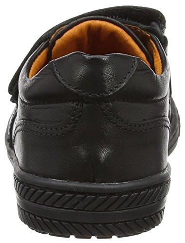 Petasil Schuhe Formelle Schule und Einheitliche Mädchen Noir (Black Aniline)