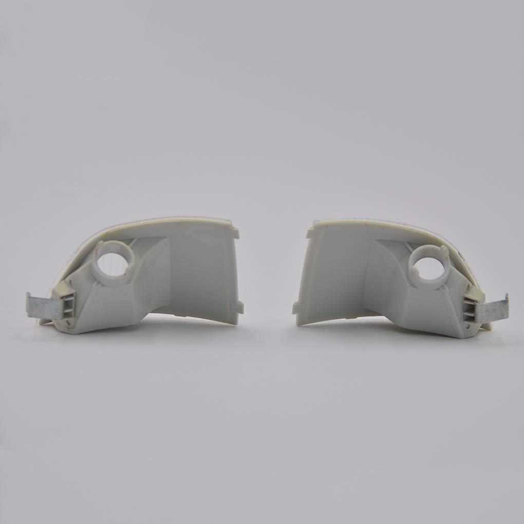 Junecat 1 par de Repuesto para Ford Focus C-MAX 2003-2013 Cafoucs Espejo retrovisor del Coche luz de se/ñal 6M5Y 13B381