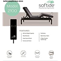 Ergomotion Adjustable bed Base 2100 Split Queen
