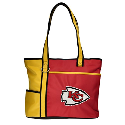 NFL Kansas City Chiefs Tote Bag with Embroidered -