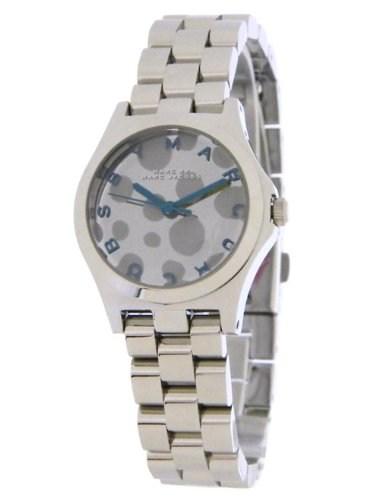Marc by Marc Jacobs Women's MBM3269 Henry Silver Tone Blue Accent Watch