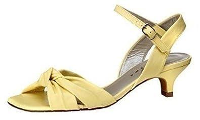 Sandalette von Charisma Leder in Gelb Gr. 32 8Xa15YJO7