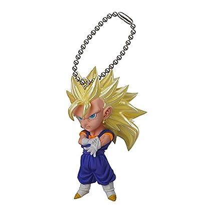 Dragon Ball Kai~UDM The Burst 07~Mascot Figure Swing Keychain~Ss 3 Vegeto